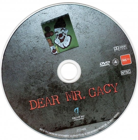dvd cover Dear Mr. Gacy (2010) WS R4