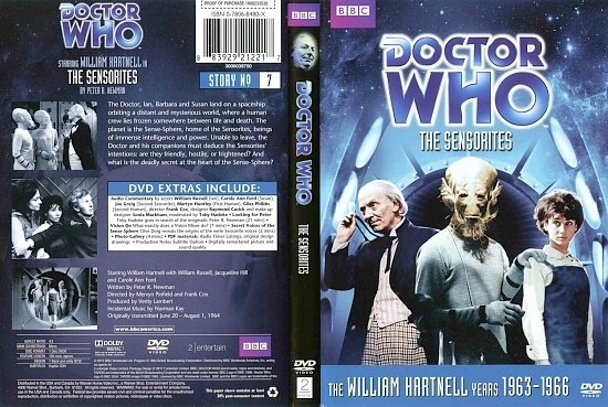 dvd cover Doctor Who The Sensorites