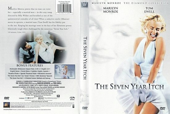 dvd cover The Seven Year Itch (1955) WS R1