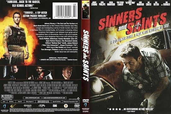 dvd cover Sinners And Saints