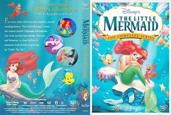 dvd cover The Little Mermaid The Complete Series 1