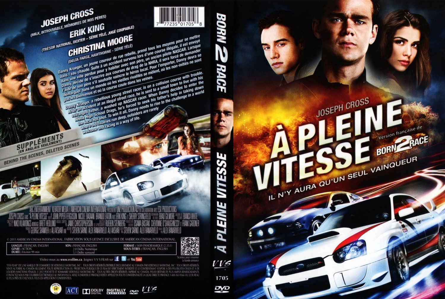 a pleine vitesse born 2 race dvd covers and labels. Black Bedroom Furniture Sets. Home Design Ideas
