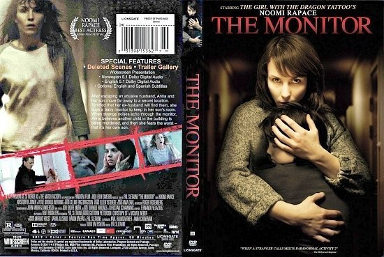 dvd cover The Monitor