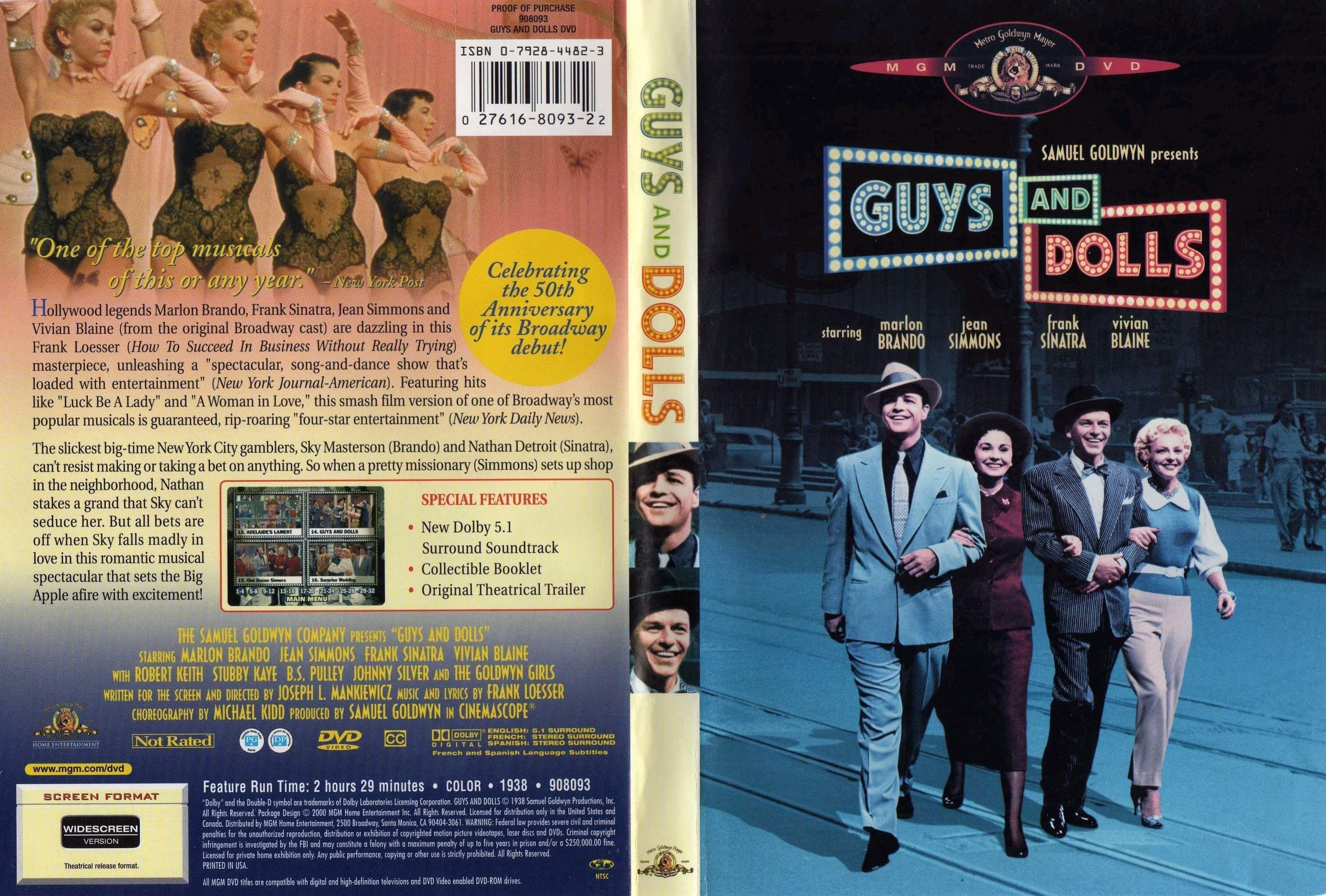 guys and dolls Guys and dolls (1955) cast and crew credits, including actors, actresses, directors, writers and more.