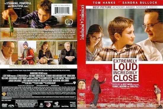 dvd cover Extremely Loud And Incredibly Close