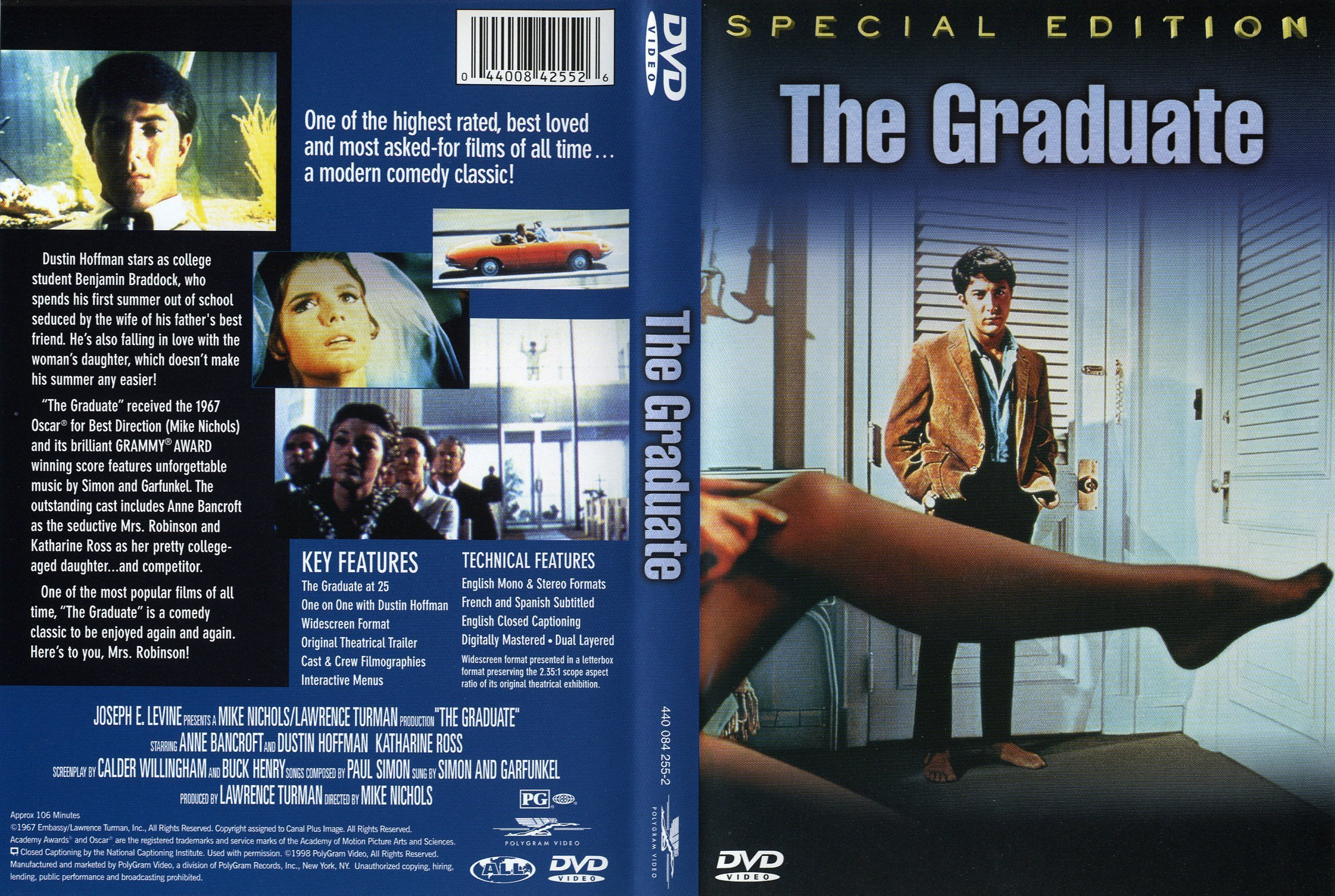 an analysis of filming techniques of mike nichols movie the graduate The use of metaphors through filming techniques in the graduate every generation says it won't the director mike nichols uses a multitude of metaphors to.