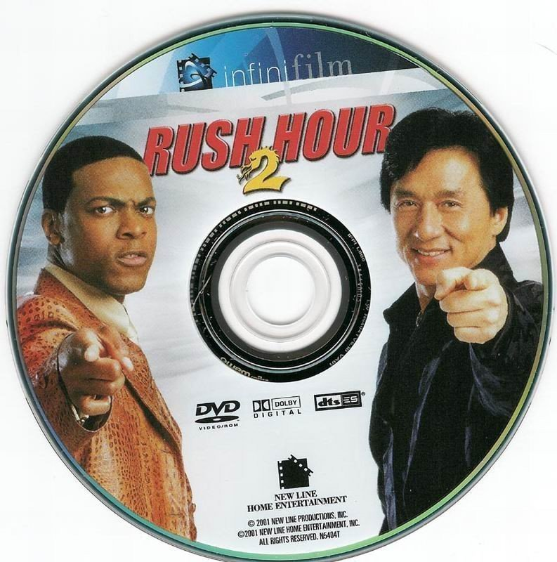 Rush Hour 2 2001 R1 Dvd Covers And Labels
