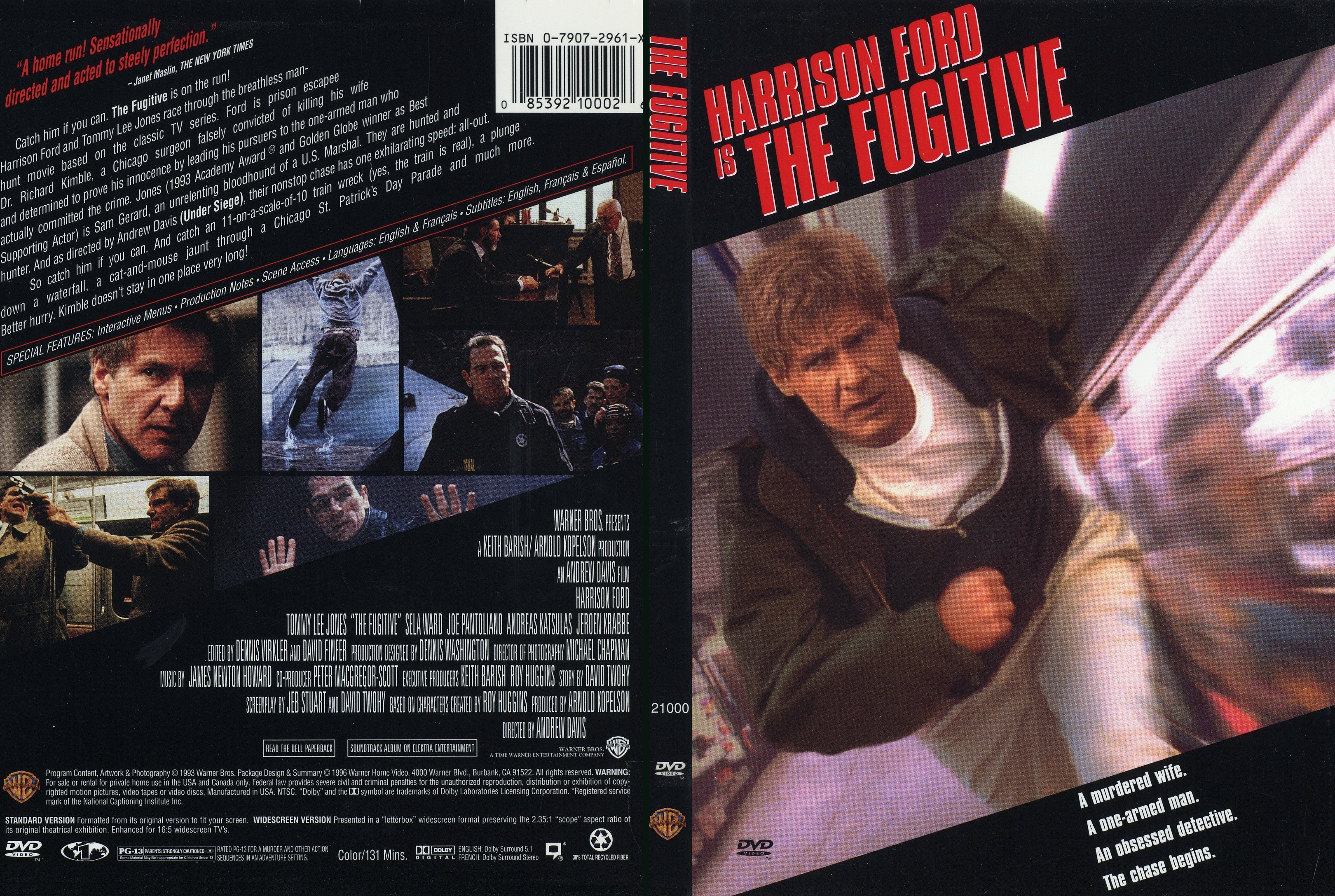 an analysis of the 1993 movie version of the fugitive