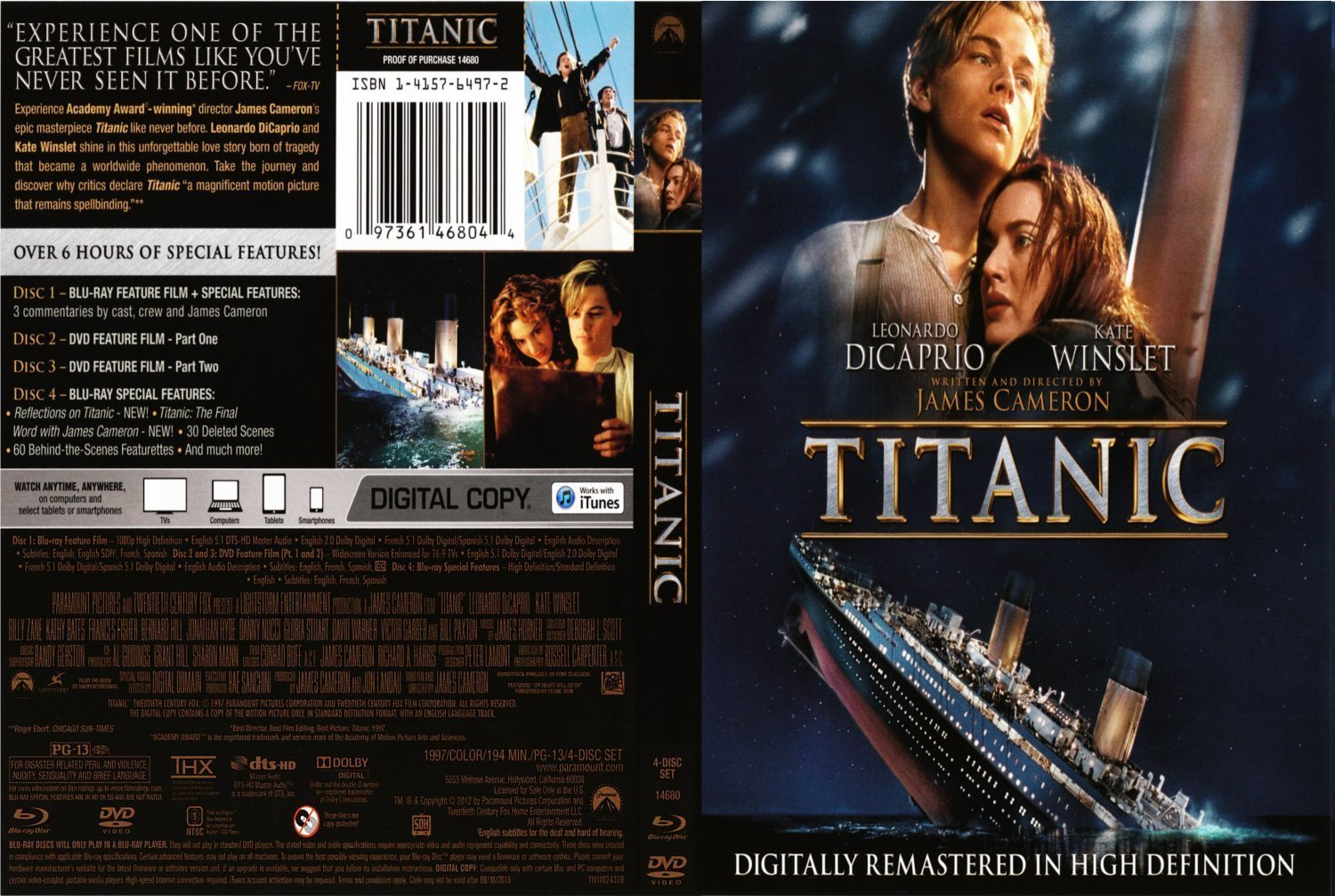 a short critique of the titanic a film by james cameron