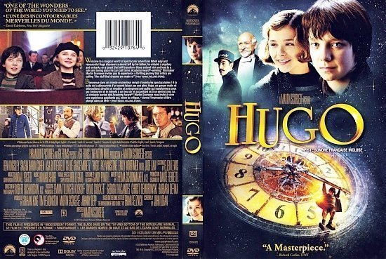 dvd cover Hugo English French