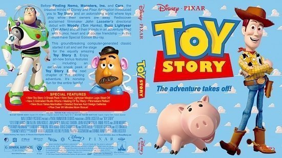 dvd cover Toy Story
