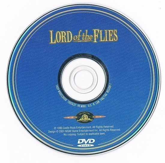 dvd cover Lord of the Flies (1990) WS R1