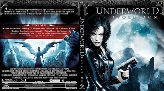 dvd cover Underworld: Evolution