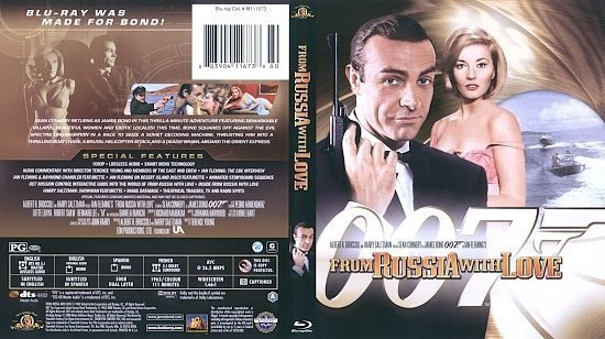 dvd cover From Russia With Love (1963) Blu-Ray