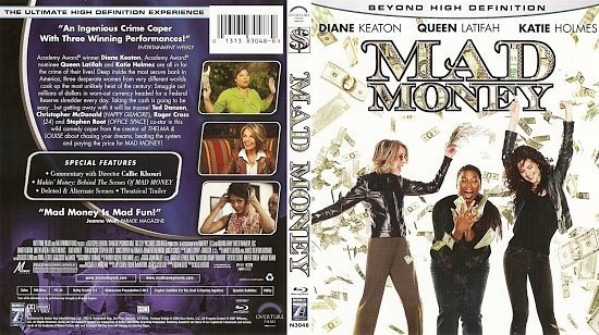 dvd cover Mad Money