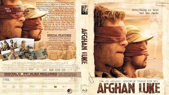 dvd cover Afghan Luke Bluray