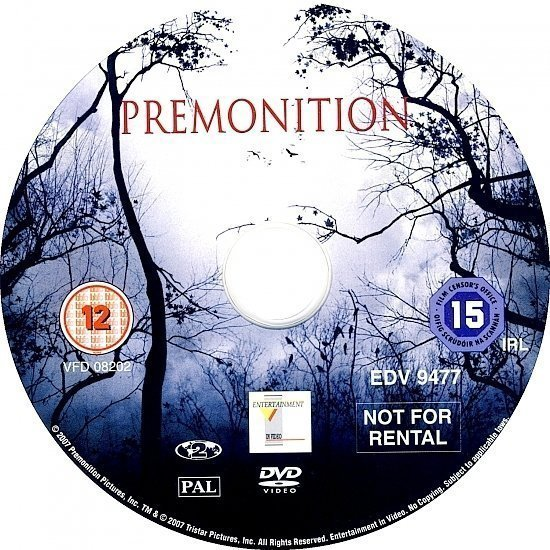 dvd cover Premonition (2007) R2