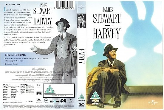 dvd cover Harvey (1950) R2