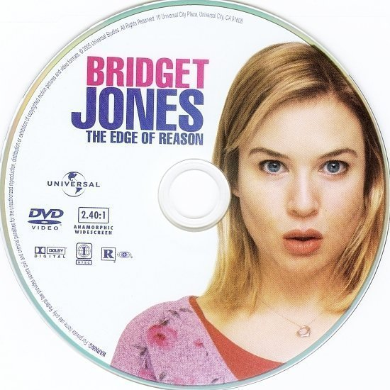 dvd cover Bridget Jones: The Edge Of Reason (2004) R1