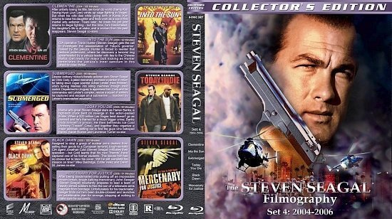 dvd cover Steven Seagal Filmography Set 4 (2004 2006)