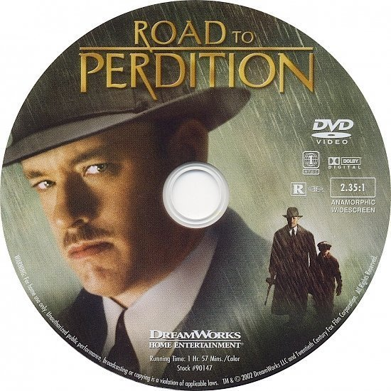 dvd cover Road To Perdition (2002) WS R1