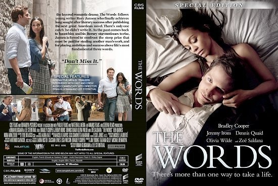 dvd cover The Words SE R1