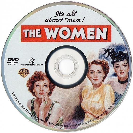 dvd cover The Women (1939) R1