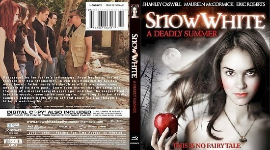 dvd cover Snow White A Deadly Summer