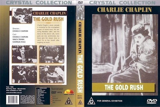 dvd cover The Gold Rush (1925) FS R4