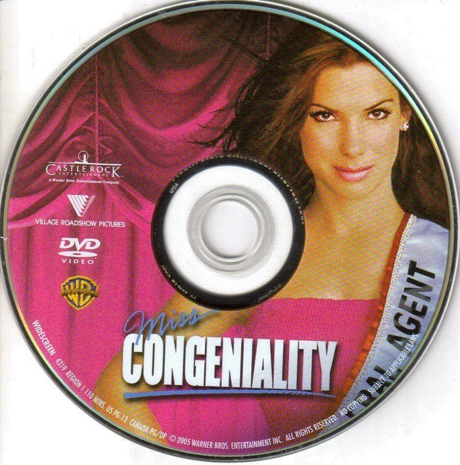 Miss Congeniality 2000 De Ws R1 Dvd Covers And Labels