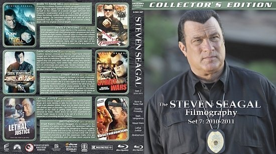 dvd cover Steven Seagal Filmography Set 7 (2010 2011)