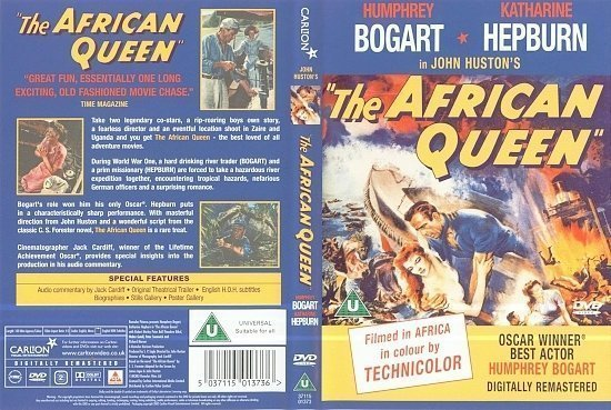 dvd cover The African Queen (1951) FS R2