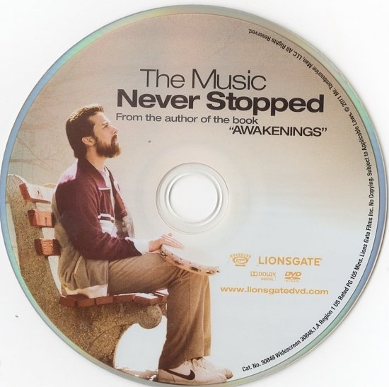 dvd cover The Music Never Stopped (2011) WS R1