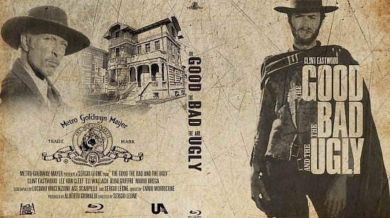 dvd cover The Good The Bad And The Ugly