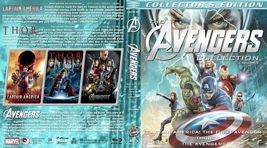 dvd cover The Avengers Collection Volume 2