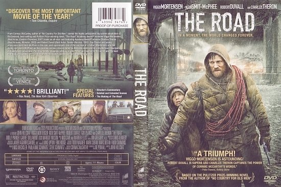 dvd cover The Road (2009) WS R1