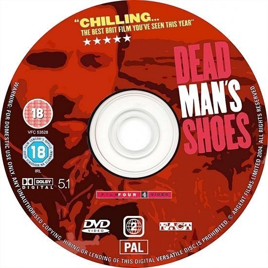 dvd cover Dead Man's Shoes (2004) R2