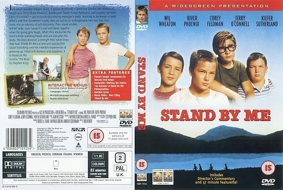 dvd cover Stand By Me (1986) R2