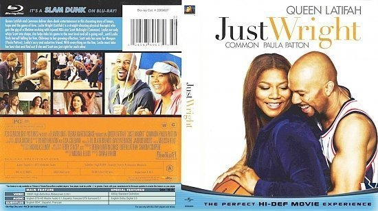 dvd cover Just Wright