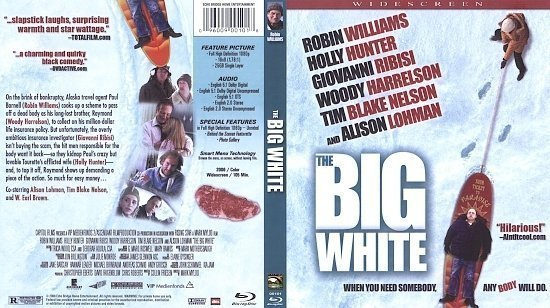 dvd cover The Big White (2006) Blu-Ray