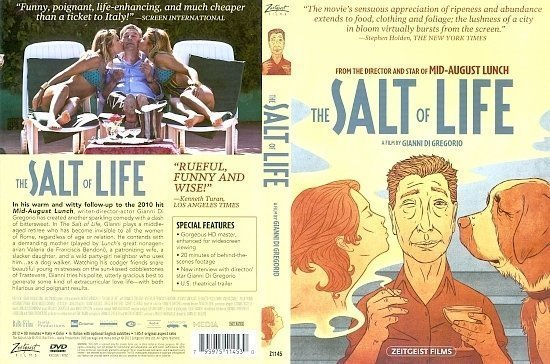 dvd cover The Salt Of Life (2011) R1