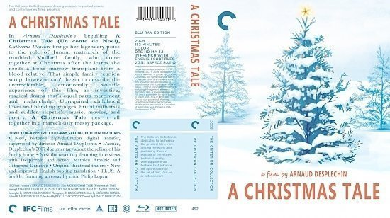 dvd cover A Christmas Tale