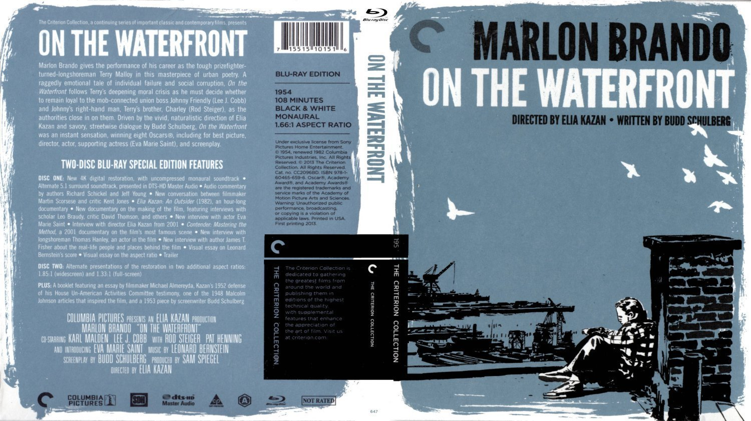 "an analysis of the film on the waterfront by eliza kazan The montage of kazan's films at the oscars, introduced by a visibly uncomfortable robert de niro and a sternly determined martin scorsese, amply confirmed de niro's description of him as ""a man whose work is vitally important in the history of american film"" on the waterfront, a streetcar named desire, and east of eden are iconic movies, but they're also intensely personal statements."