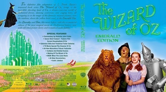 dvd cover The Wizard Of Oz