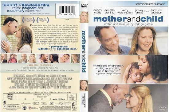 dvd cover Mother and Child (2009) WS R1