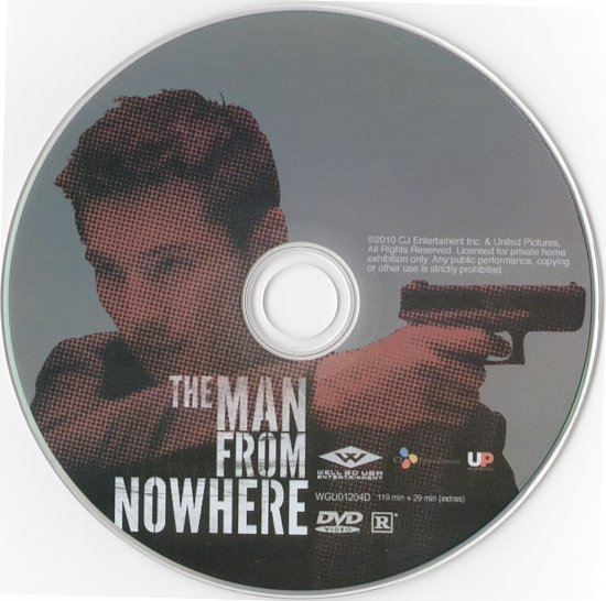 dvd cover The Man From Nowhere (2010) R1