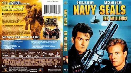 dvd cover Navy Seals