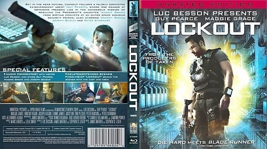 dvd cover Lock Out