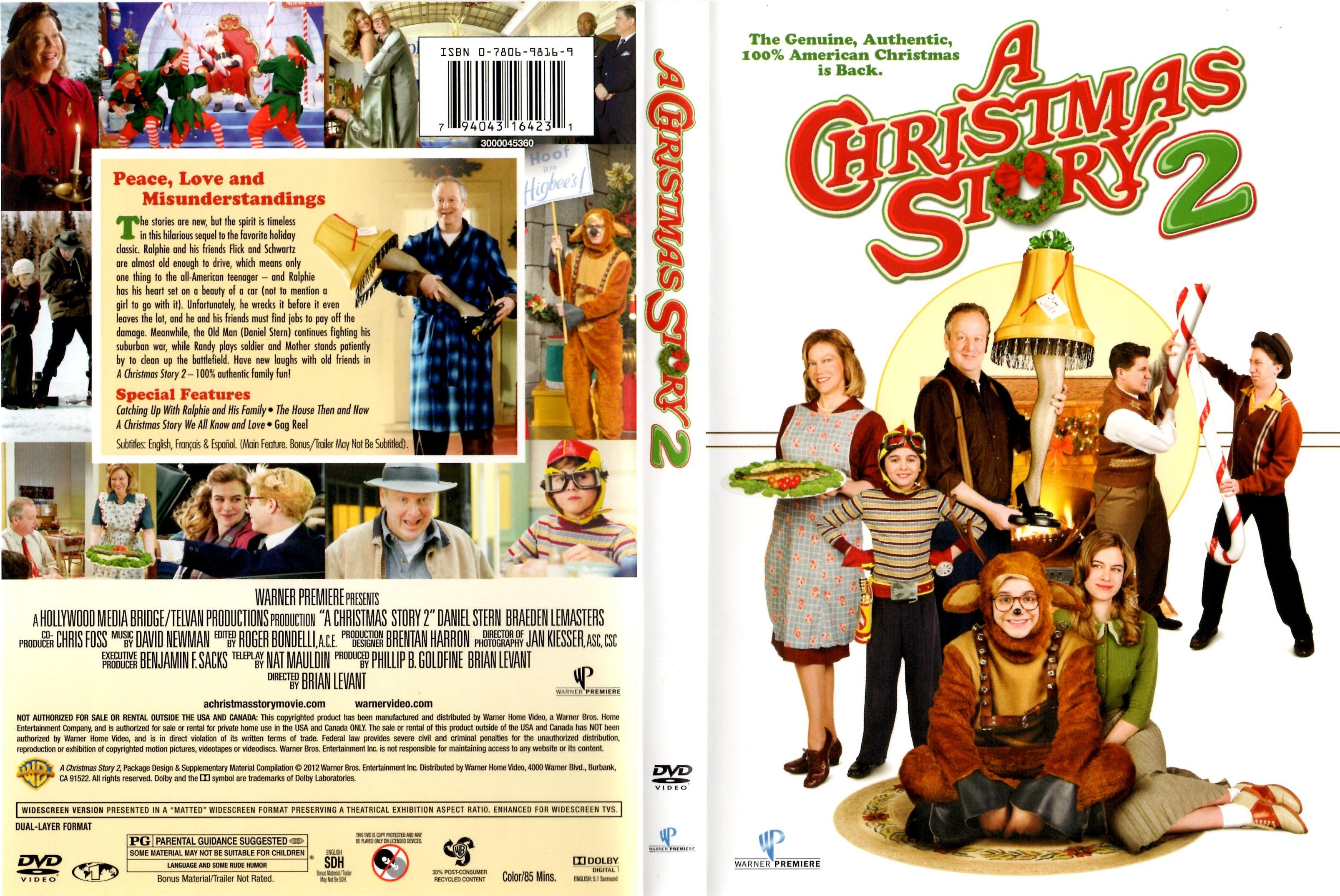 Christmas Story 2.A Christmas Story 2 Ws R1 Dvd Covers And Labels