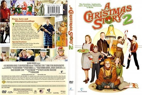 dvd cover A Christmas Story 2 WS R1
